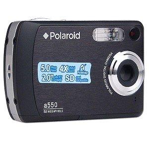 Polaroid A550 5.0MP 4x Digital Zoom Camera (Black)