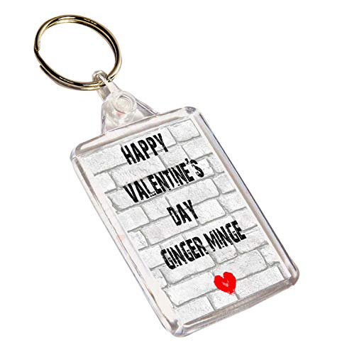 d Ginger Day grosero Regalo Minge Valentine's del y Llavero Akgifts Happy divertido qwpC11
