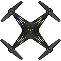 Ikevan 2.4G HD Camera FPV WIFI Drone Quadcopter UAV Remote Control Helicopter Real-time (Yellow)