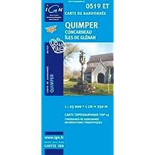 Quimper / Concarneau / Iles De Glenan GPS: Ign.0519et