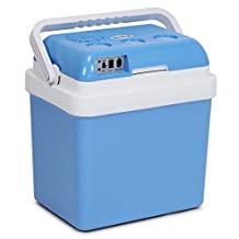 Kenley 24L Electric Cool Box Portable Car Fridge Cooler - Includes 12V & 240V Adapters