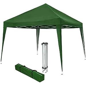 BRICOMIRAS PERGOLA Carpa TOLDO Plegable 3X3 Multifuncional Ideal Camping, TERRAZAS O Playa