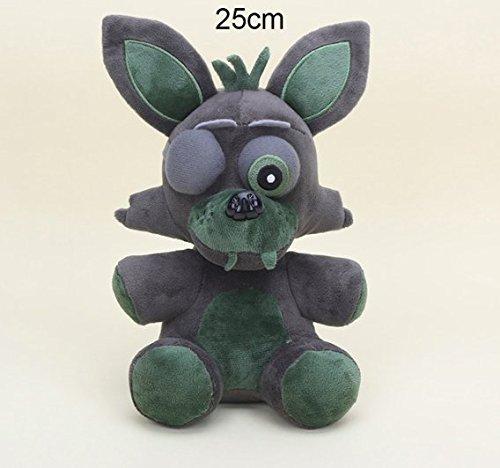 ML Warehouse 15cm / 25cm Five Nights at Freddy's & Nightmare Edition Plush (25cm, Phantom Foxy)