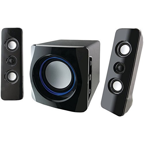 iLive iHB23B Wireless Bluetooth Speaker System 2.1 Channel W