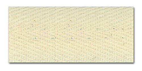 NATURAL 1 INCH HEAVY TWILL TAPE 10 Yards 100% Cotton