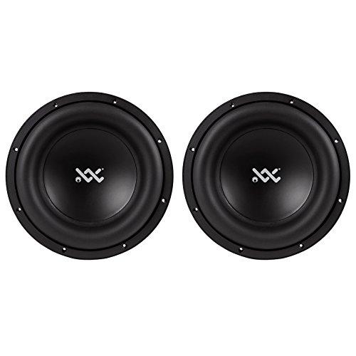 (2) RE Audio XX15D4 V2 XXV2 Sub 15″ 3000 Watt RMS Dual 4-Ohm Car Sub Subwoofers