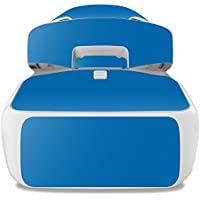 Skin For DJI Goggles – Solid Blue   MightySkins Protective, Durable, and Unique Vinyl Decal wrap cover   Easy To Apply, Remove, and Change Styles   Made in the USA