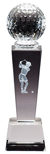Order Fast Awards Crystal Golf Collegiate Series Female Personalized Sports Award Free Engraving