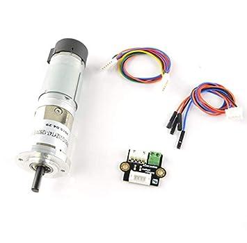 DFRobot 12V Low noise DC Motor 146RPM w/Encoder - DIY Maker