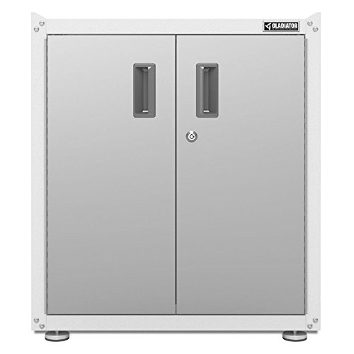 Gladiator GAGB28FVEW Ready-to-Assemble Full-Door Modular Gearbox, Grey/White
