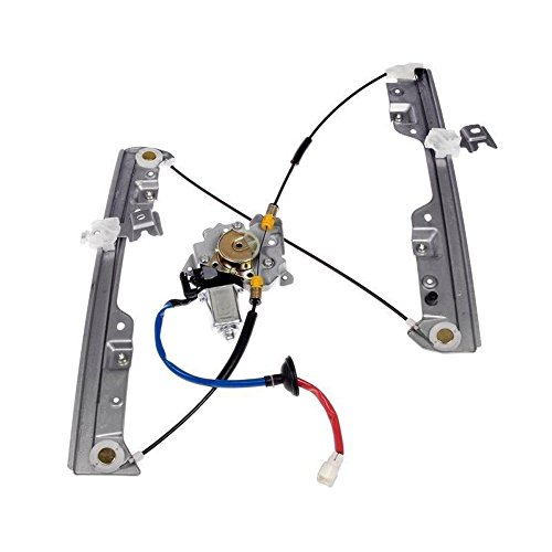 Front Left Driver Side Power Window Regulator with Motor for 2003-2007 Nissan Murano Sport Utility 4-Door 3.5L V6 4 Door Window Motor Regulator