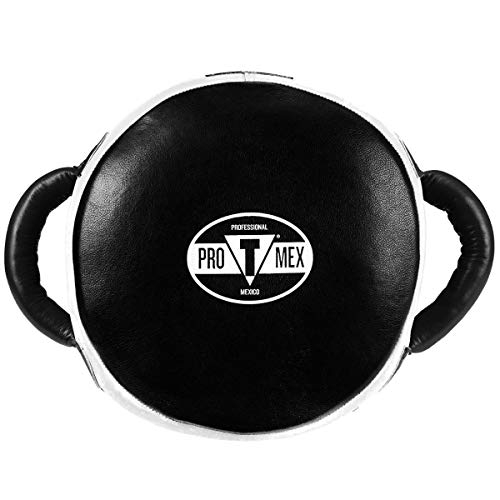(Pro-Mex Accuracy Leather Pro Punch Shield, Black/White)