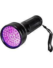51 LED UV Flashlight Black Light 395 NM Ultraviolet Blacklight Detector for Dog Urine Pet Stains and Bed Bug