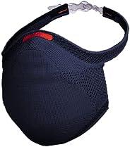 Máscara Esportiva Fiber Knit - tamanho G, Azul Marinho