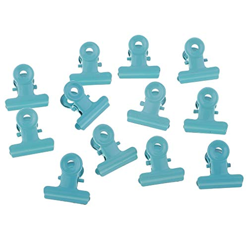 SM SunniMix Metal Hinge Clips (Pack of 12) - Office Home Stationery Supplies,Arts & Crafts,Photos Picture(0.87inch) ()