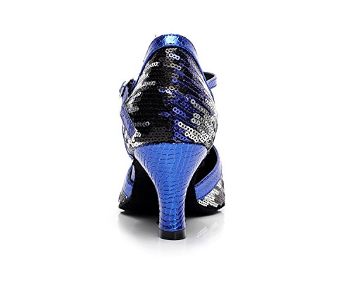 Minitoo ,  Damen Tanzschuhe , blau - blau - Größe: 35