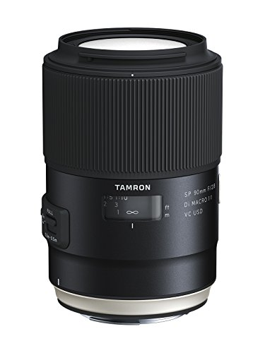Tamron AFF017C700 SP 90mm F/2.8 Di VC USD 1:1 Macro for Canon Cameras (Black)