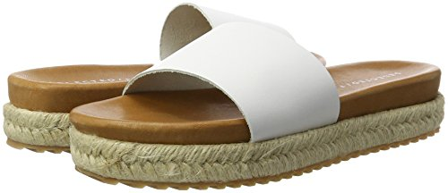 Selected White White Women's Flops white Slider Sfann Flip 4BOg4vq