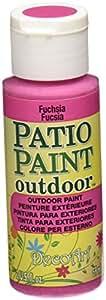 DecoArt Patio Paint, 2-Ounce, Fuchsia