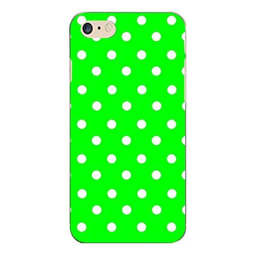 """Disagu Design Case Schutzhülle für Apple iPhone 7 Hülle Cover - Motiv """"Grün Weiß gepunktet"""""""