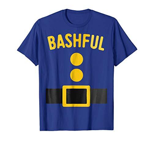 Bashful Dwarf Halloween Matching Group Costume Gift T Shirt -