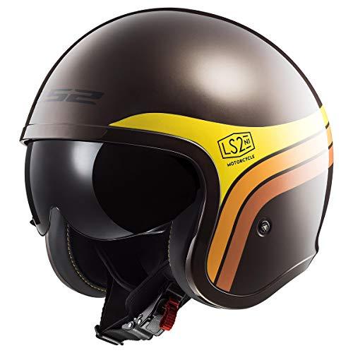 LS2 Helmets Motorcycle & Powersports Helmet's Open Face Spitfire Sunrise -