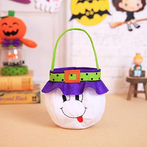 YJYdada Halloween Kids Doll Candy Sweet Jar Box Children Storage Cans Party House Decor (B)