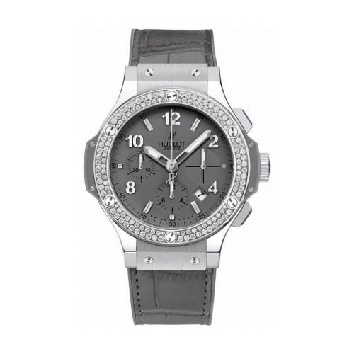 Hublot Big Bang Earl Gray Diamond Automatic Chronograph - 342.ST.5010.LR.1104