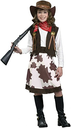Forum Novelties Cowgirl Child Costume, Large