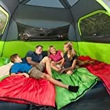 Divinext 6 Person Anti Ultraviolet Portable Outdoor Camping Tent