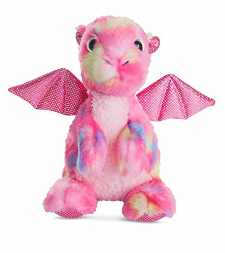 Aurora World Candies Dragon Plush Toy (Dazzler Pink) by Aurora Aurora World Ltd