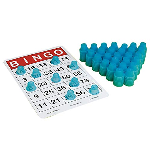 S&S Worldwide Stacking 3-D Bingo Chips (Pack of 250)