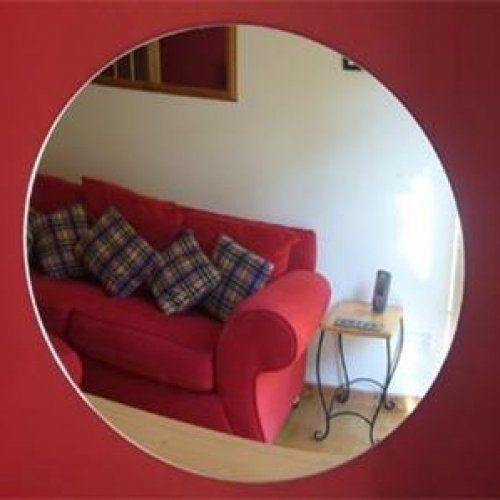 5 x Circle Mirrors - 4cm Diameter Super Cool Creations