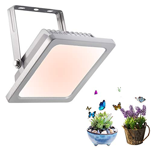 Full Spectrum Grow Light Low Heat Out LED Grow Light, Warmwhite Growing Lamps for Hydroponics Indoor Plants Veg and Flower (12W)