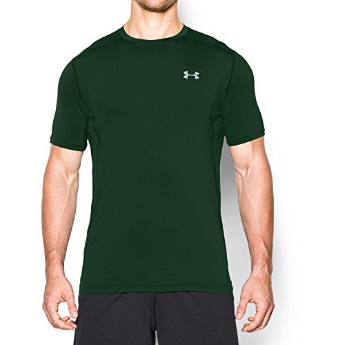 77d83787a Galleon - Under Armour Men's Raid Short Sleeve T-Shirt, Forest Green/Forest  Green, Small