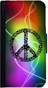 Peace Symbol Samsung Galaxy S3 Flip Case, Samsung Galaxy S3 Flip Cover, Flap Case, Pocket Cover, Book Style Case, Wallet Case, Bi-Fold Cover, by Sublifascination 76