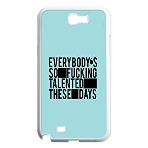 Dustin Funny Quote Samsung Galaxy Note 2 Cases Talented, [White]