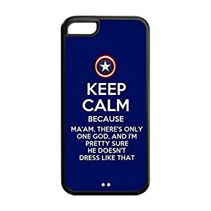 Captain America Inspired Design TPU Case Cover For Iphone 5c iphone5c-NY1459