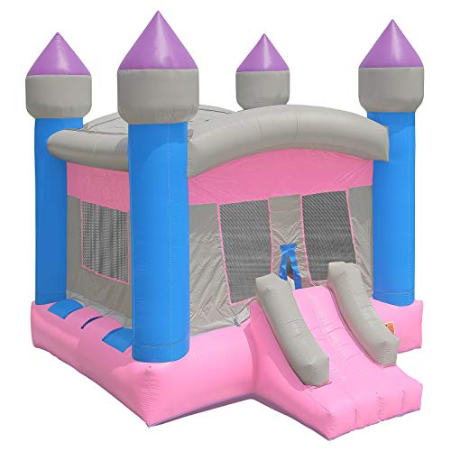 (Inflatable HQ Commercial Grade Princess Castle Bounce House 100% PVC with Blower)