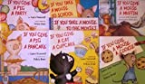 img - for If You Give Set: If You Give a Mouse a Cookie; If You Take a Mouse to School; If You Take a Mouse to the Movies; If you Give a Moose a Muffin; If You Give a Cat a Cupcake; If You Give a Pig a Pancake; If you Give a Pig a Party (7 books) book / textbook / text book