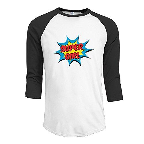 MYKKI Superhero Or Princess Men's Sport Tee XL Black