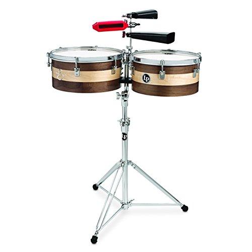 """Latin Percussion LP Matador 13""""/14"""" Sheila E Signature Series Wood Timbale Set M1314-SE"""