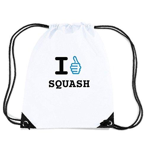 JOllify SQUASH Turnbeutel Tasche GYM6254 Design: I like - Ich mag