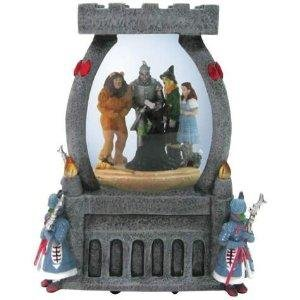 Westland Giftware Wicked Witch Castle 100mm Musical Water -
