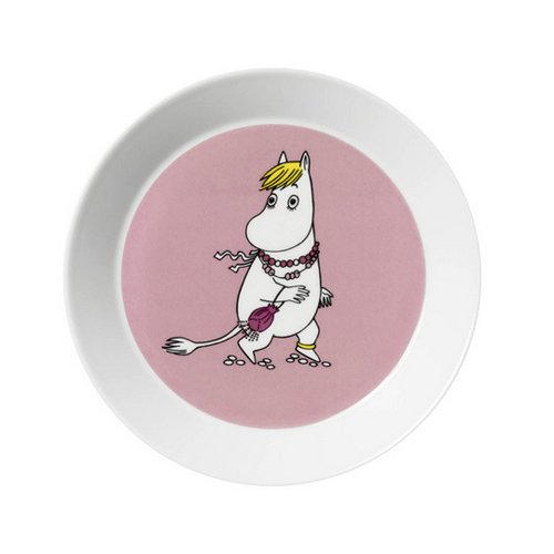 Moomin Snorkmaiden Plate (Arabia Round Plates Of Finland)