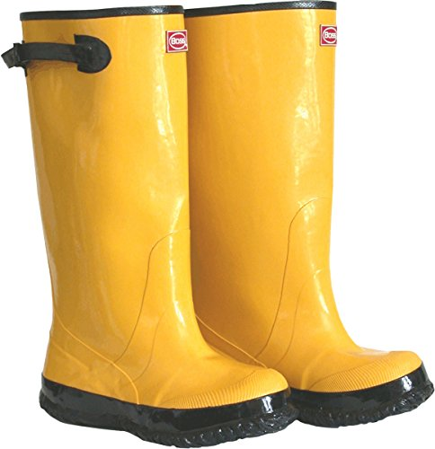 Boss 2KP448113 Boot, Rubber, Yellow 17 Tall, Size 13