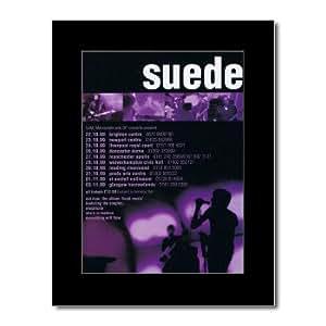 SUEDE - UK Tour 1999 Mini Poster - 28.5x21cm