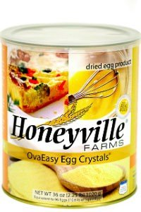 Dehydrated Egg Crystals - 2.25 lb Dried Eggs For Cooking, Camping, Storage And Emergency Preparedness