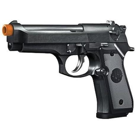 Amazon com : Beretta M92 FS -6mm AIRSOFT- Spring Pistol- Blk