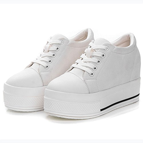 Shoes five The Thick Canvas The Women'S Thick Strap Shoes Casual Thirty Plus Velvet Shoes To Pine Cake Tether KPHY Increase Student SItdwRxqR